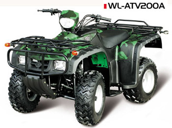200CC AIR CooLING      WL-ATV200A Quad