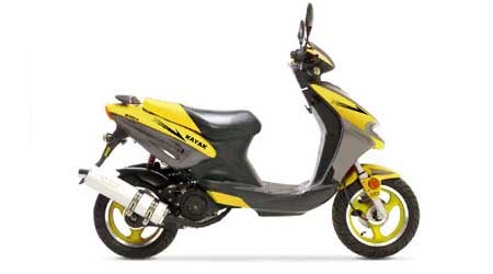 KN125t-11 Scooter