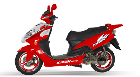 KN125t-12 Scooter