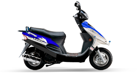 KN125t-9 Scooter