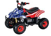 WL-ATV090AA AMeRICAN      FLAG Quad